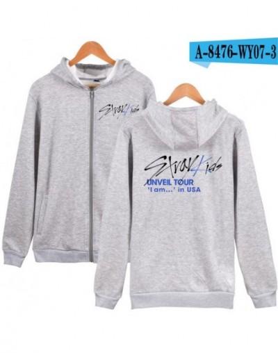 Stray Kids Kpop Zipper Hoodies Women/Men Fashion Long Sleeve Hooded Sweatshirts 2019 Hot Sale Casual Trendy Streetwear Cloth...