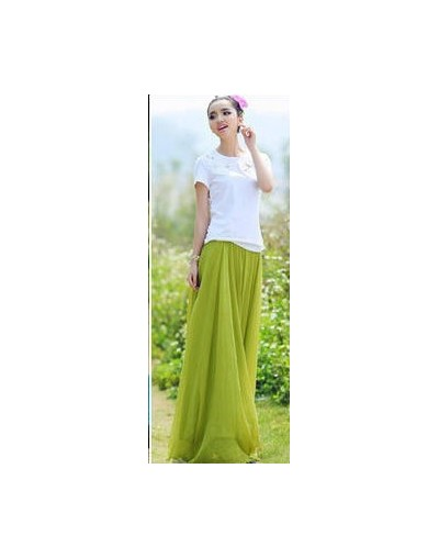 Bohemian 8 meters hem vintage high waist chiffon skirt womens fashion maxi skirt 2018 summer pleated tulle long skirts femal...