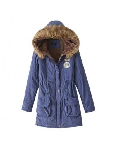 2018 Womens Parkas Winter Hooded Jacket Outwear Parkas Thickening Cotton for Winter Jacket Women Keep Warm Winter Coat - sty...
