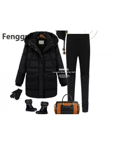 Fashion Wind Breasted Coat New Fashion Spring Autumn Women Jacket Female Long Sleeve Warm Cotton - black - 4T3978270955-2