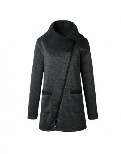 2018 Winter Coat Plus Size Women Casual Zipper Hoodies Full Sleeve Cotton Long Jacket 4XL 5XL Sweatshirt Warm Outerwear Hood...