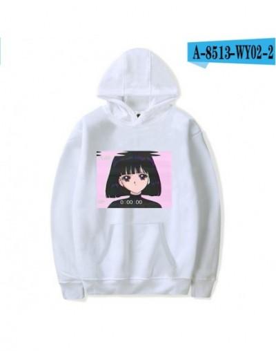Vaporwave Hoodies Sweatshirts Harajuku Print Vintage 90s Aesthetic Hooded Women/Men Sweatshirt Autumn/Winter Clothes Plus Si...
