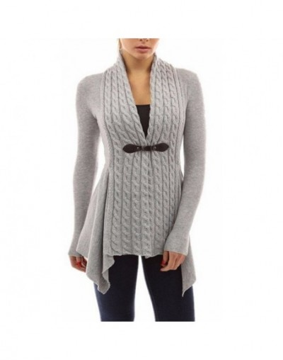 5XL Autumn Winter Knitted Cardigans Coat Women 2018 Fashion Long Sleeve Poncho Sweater Long Cardigan feminino Plus Size - Gr...