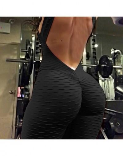 Women Casual Sleeveless Bodycon Romper Jumpsuit Club Bodysuit Short Pants - Black - 33035878308