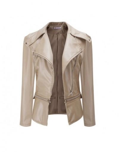 woman jacket Winter Warm lether jacket Coat Faux Collar zipper plus size jackets long sleeve Casual Overcoat work jaqueta fe...