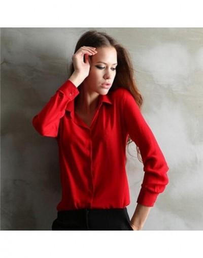 work wear women shirt blouse casual solid elegant ladies chiffon office blouse top new fashion summer formal Blusas Feminina...