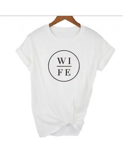 New Fashion Wife Hubs T-shirt Couple Matching Tshirt Honeymoon Newlywed Married Mr Mrs Top Women Unisex Tee Plus Size - whit...