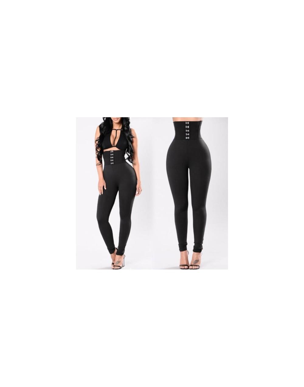Women Suitable Fitness Leggings Stretch Slim High Waist Pants Trousers - 443062854236
