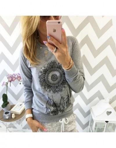 2019 Autumn Women Sweatshirt Casual Long Sleeve O Neck Print Pullover Jumper Hoodies Sweatshirts Fashion Tops Sudaderas Muje...