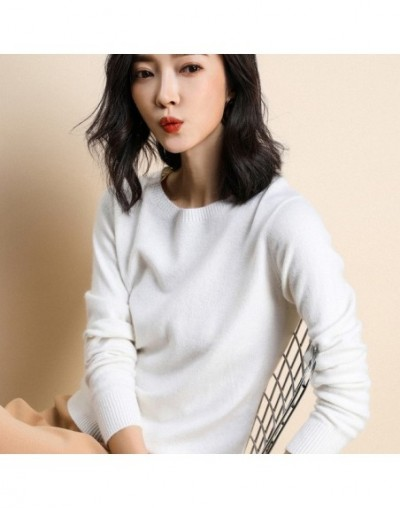 Women Sweaters O Neck Long Sleeve Knitting Clothes Pullover Knitted Streetwear Tops Female Soft Loose Slim Jumper Korean Fas...