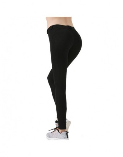 Butt Lifter Low Waist Push Up Casual Gothic Leggings Fitness Women Sexy Pants Bodybuilding Clothing Jegging Leggins - Black ...