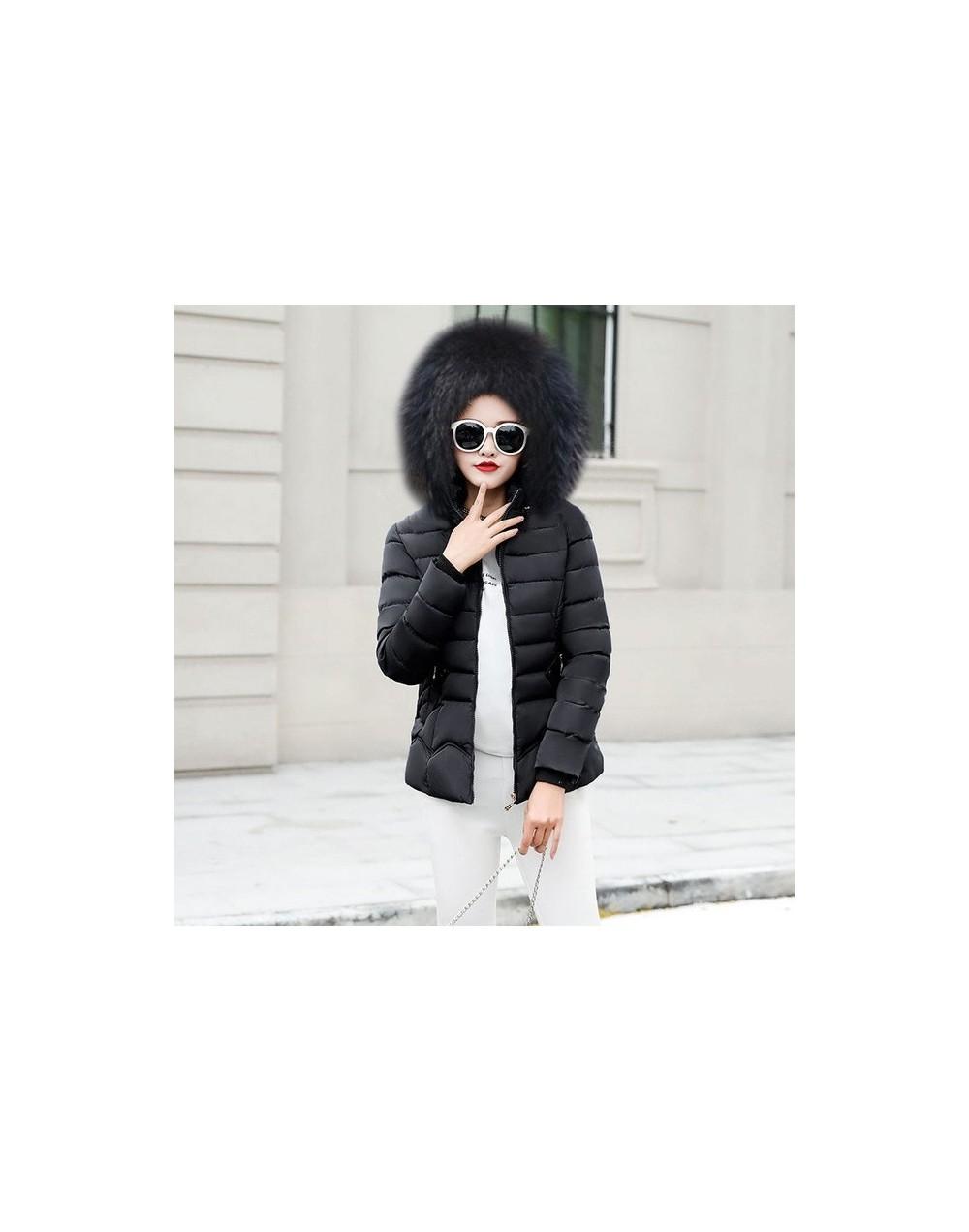 Autumn Winter Female Jacket New 2019 hooded Women Coat Long Sleeve Jacket Winter Coat Female slim Outwear Fake hair Women Pa...