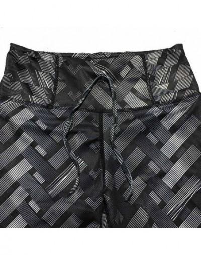 Women Leggings High Waist Fitness Clothing Legging Slim Fit Pants Trousers Female Push Up Workout Printed Leggings - Black K...