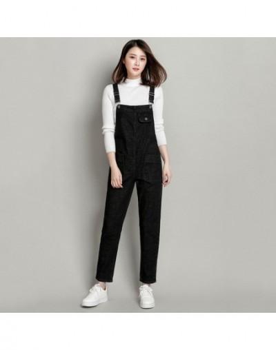 Plus Size 6XL Denim Jumpsuit Loose Boyfriend Jeans For Women Pocket Long Harem Black Jeans Women Overalls Wide Leg Rompers C...