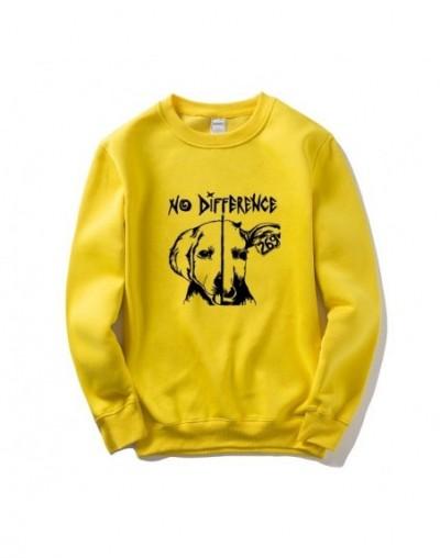 No Difference Vegan Friends Not Food Men Women Sweatshirt Hooded Cotton Mens Tracksuit Streetwear Brand Clothing Jacket - Ye...