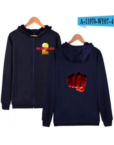 One Punch Man Season 2 Hoodies Hot Sale Casual Zipper Hoodies Sweatshirts Harajuku Women/Men Clothes 2019 Popular Hooded Fas...