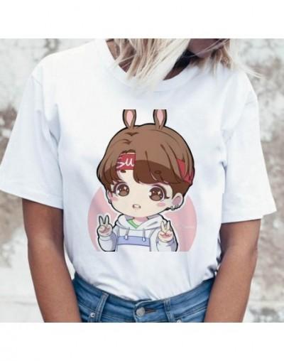 Kpop T Shirt Suga J Hope Women Jin JIMIN V Top Tshirt for K Pop Korean Fashion Tees Funny Female T-shirt K-pop - 1073 - 4B41...