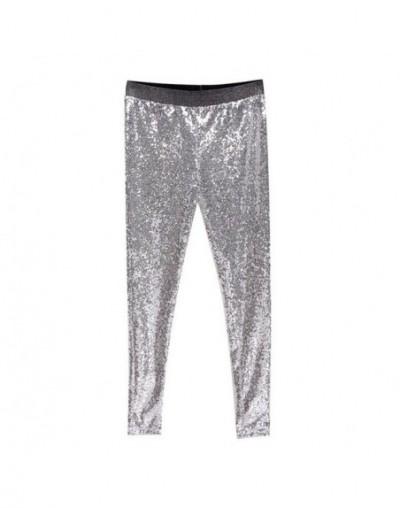 Cargo Pants Women 2019 New Gothic Streetwear Sequined Trousers Women Nightclub High Waist Pencil Pants Pantalones De Mujer -...