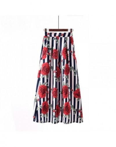 Long Pleated Maxi Skirt Summer 2019 Jupe Longue Femme Vintage High Waisted Polka Dot Skirts Womens Big Swing Plus size 3XL -...
