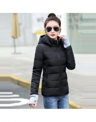 Winter Jacket women 2019 Plus Size S-5XL Womens Parkas Thicken Outerwear hooded Winte Coat Female warm Down jacket basic top...