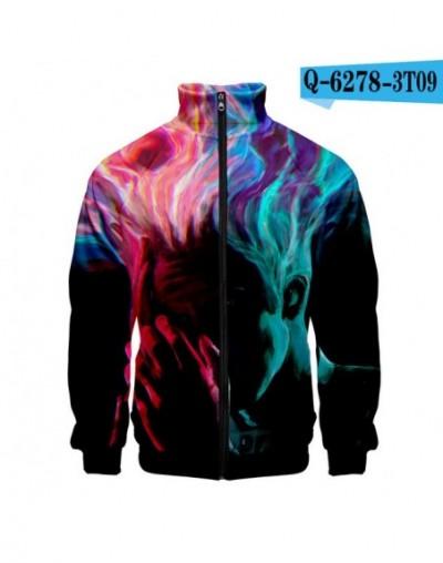 Legion 3D Print Women/Men Fashion Zipper Standing collar Casual Street cool Hipster Hooded Sweatshirt Popular Hoodies Zipper...