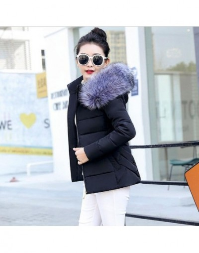 White Womens Parka Casual Outwear Autumn Winter Hooded Coat Winter Jacket Female Plus size 5XL Women's Winter Jackets And Co...
