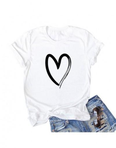 Summer Tops 2019 Women T-Shirts Casual Cotton T Shirt Letter Print Round Neck Short Sleeve Cute Tee Shirts Tunics Plus Size ...