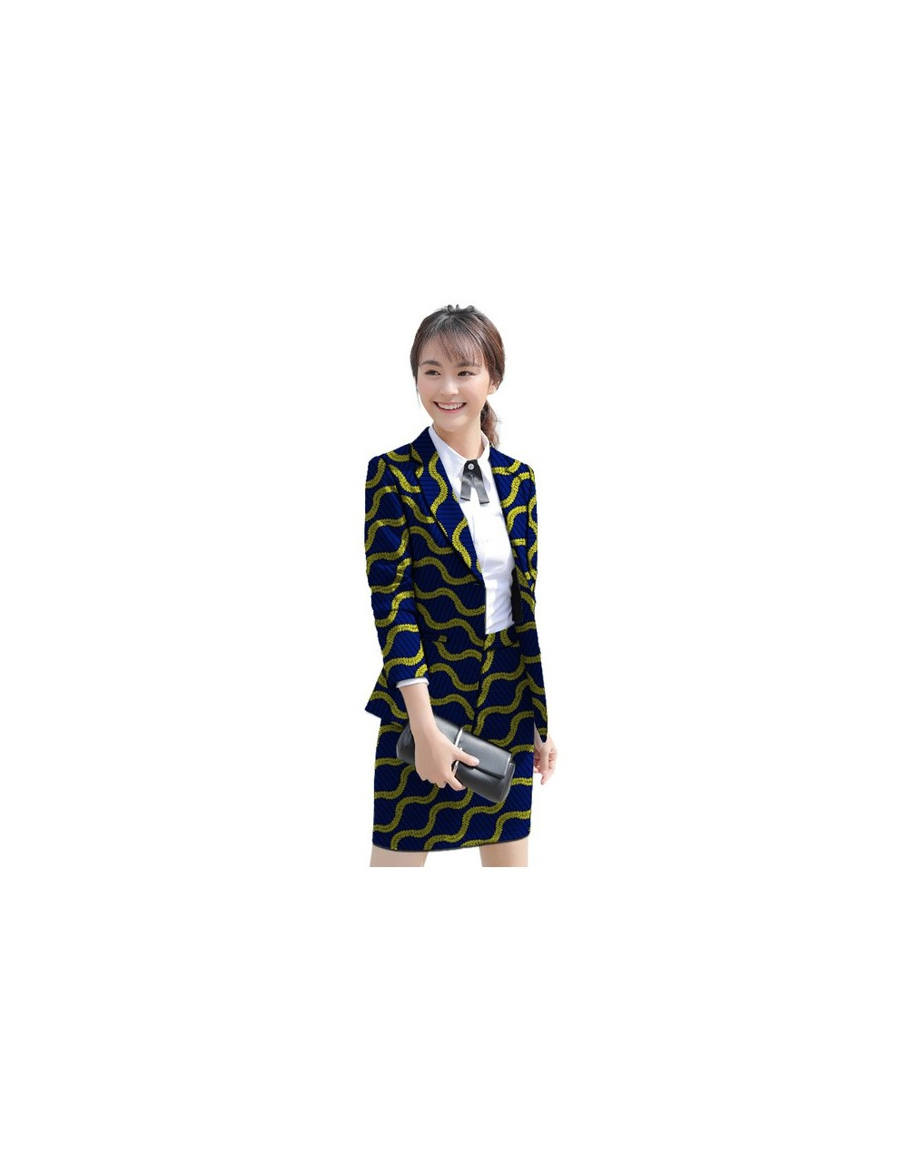 African clothes women's skirt suits slim fit fashion retro pattern Ankara ladies dashiki suits tailor made formal party wear...