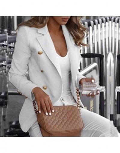 Button Ladies Blazer Woman 2019 Work Suit Women's Jacket Female Office Lady Formal Women Blazers and Jackets Female Blazer F...