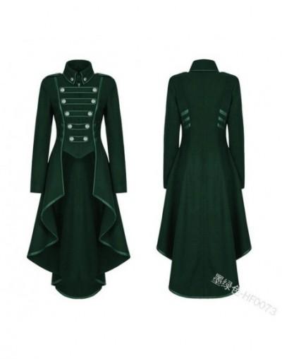 coat Women Vintage Steampunk Long Coat Gothic Overcoat Ladies Retro Jacket Luxury Brand Dovetail veste femme chaquetas mujer...