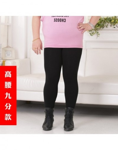 Colorful Modal Big Leggings Women Summer Pants Plus Size Jeans Leggings Candy Color Leggings Big Women Pants Bodycon Pants X...
