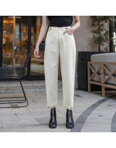 Vintage high waisted jeans woman ripped jeans for women denim harem pants ladies jeans loose mom jeans women's Plus large si...