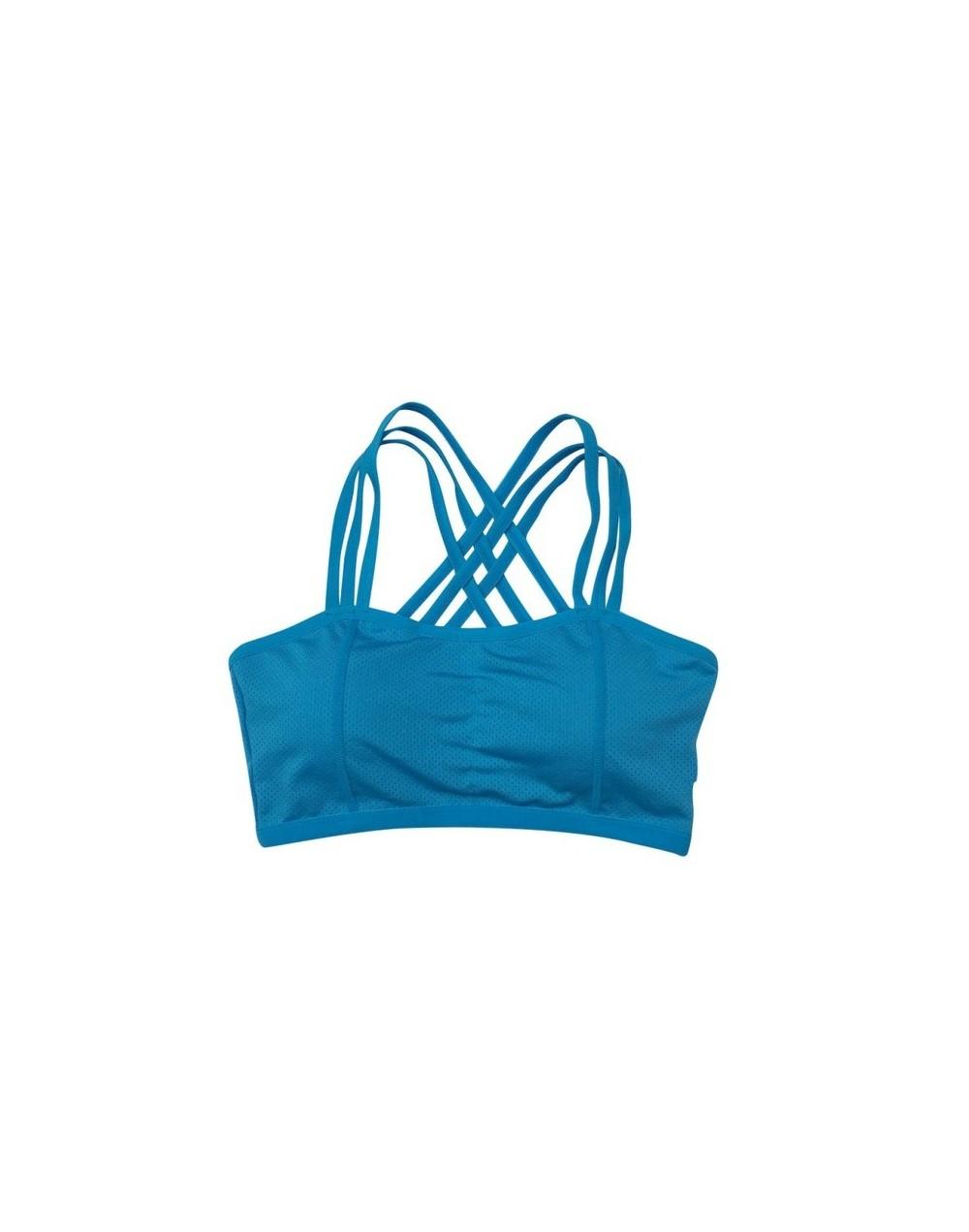 Women's Vest Bra Crop Top Seamless Fitness Bra Tank Tops Girls Wire Free Breathable Underwear Bra - Sports Bra - 4L3013309593-2