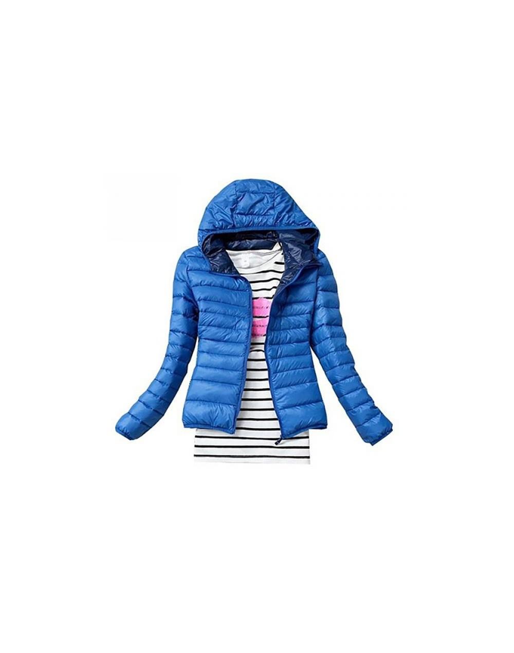 Fashion Women's Winter Short Jacket Coats Female Warm Parka Slim Cotton Padded Lining Sports Overcoat Casual Outwear Size XS...