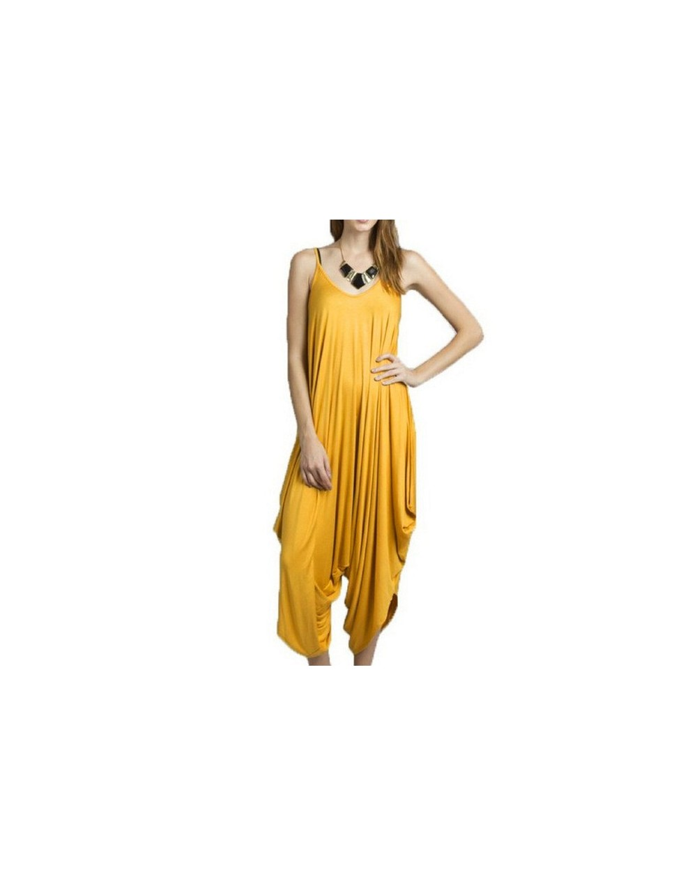 2018 plus size Spaghetti Strap v neck Backless Sexy club party Women Long Jumpsuits big size Wide Leg Harem Pants Black over...