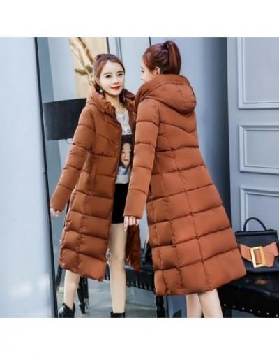 2019 winter jacket women hooded collar thicken warm long jacket female plus size 4XL outerwear parka ladies chaqueta feminin...