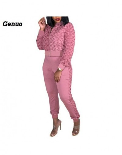 Women Tracksuit Casual Two Piece Set Woman Long Sleeve Short Jacket Coat Top and Pant 2 Piece Set Outfits Women Clothing Set...
