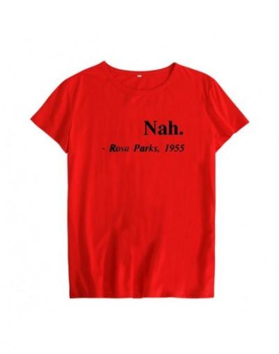 Equal Rights Slogan Nah Rosa Parks 1955 Hipster Women T Shirt Streetwear Clothing Feminist Equality Saying Fashion T-shirt -...