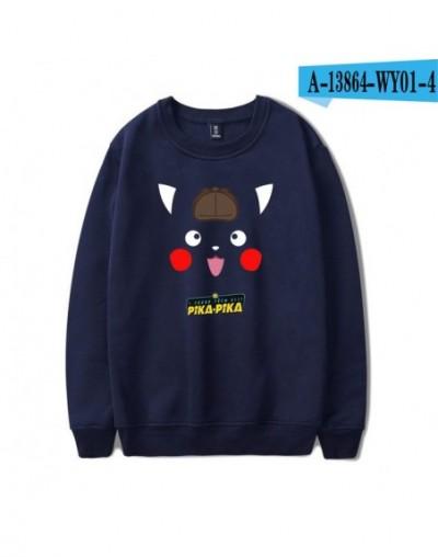 Software Hot Long Sleeves Round Neck Harajuku Sweatshirts 2019 New Pikachu Print Men/Women Casual Clothes K pop Plus Size - ...