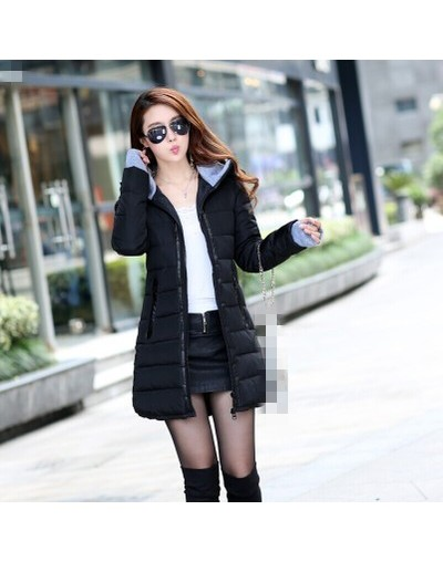 2019 new Han edition cultivate one's morality women autumn and winter fashion thickening cotton-padded jacket - black - 4839...