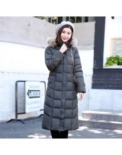 High Quality 2019 Winter Jacket Women Plus Size 4XL 5Xl With Fur Hooded Female Coat Long Warm Cotton Padded Womens Parka Par...