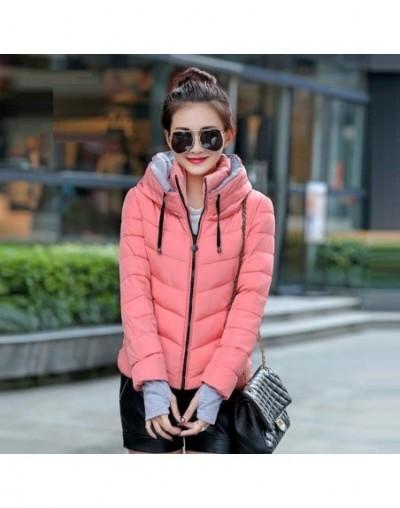 2019 Winter Women Coat Hooded Down Jacket Thicken Warm Winter Coat Female Plus Size 3XL Outerwear Parka Ladies Chaqueta Femi...
