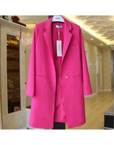 2019 Spring Autumn Blazers Women Small suit Plus size Long sleeve jacket Casual tops female Slim Wild Blazers Windbreaker co...
