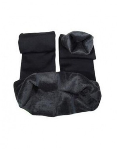 Women's Winter Plus Cashmere Leggings Fashion Big Size Warm Super Elastic Faux Velvet Winter Thick Slim Leggings - Gray - 4I...