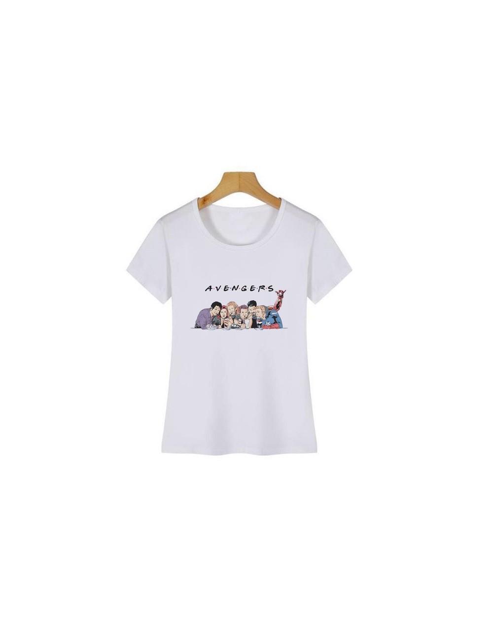 Avengers Endgame T Shirt Women Marvel T-Shirt Women Spiderman Iron Man Captain America Tshirt Tops Camiseta Mujer - 3 - 4D41...