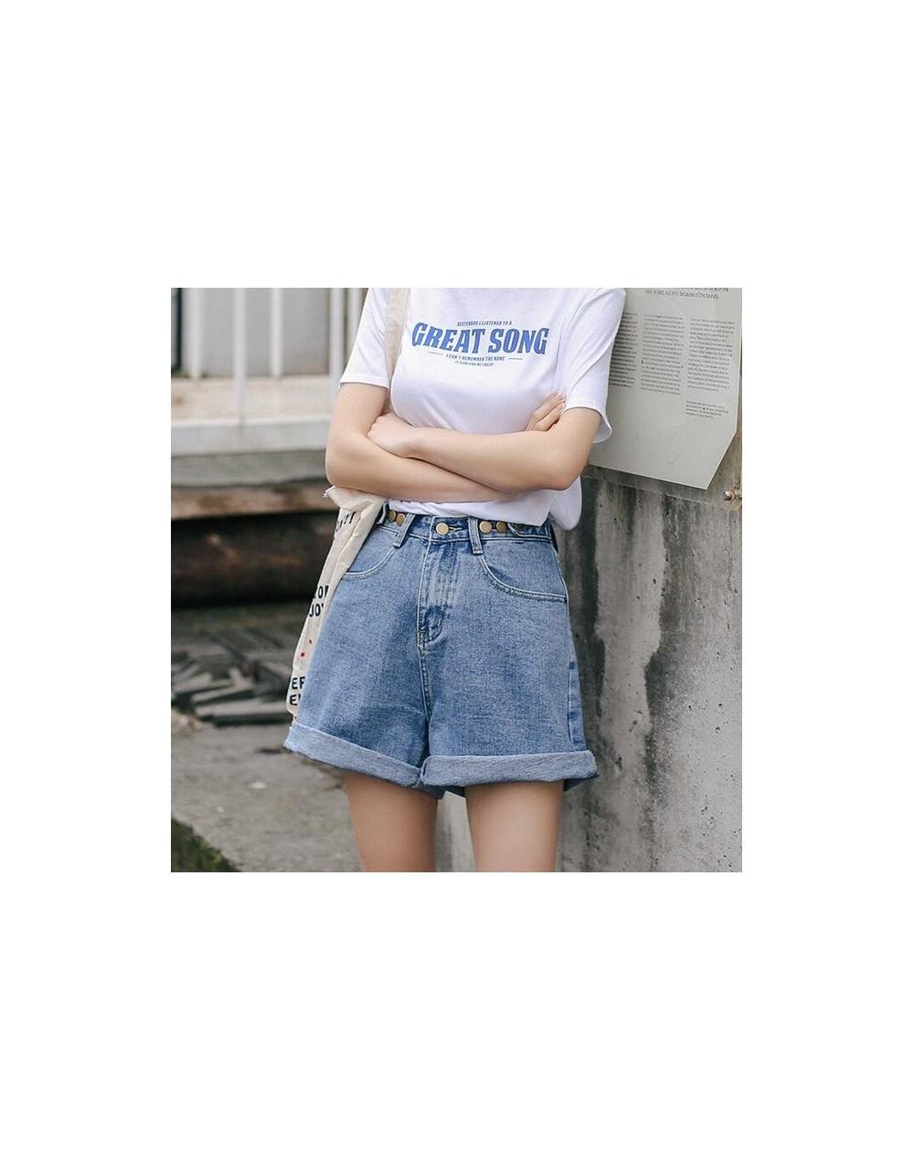 Streetwear High Waist Wide Leg Denim Shorts For Women 2019 New Jean Shorts Women Summer Korean Style Women Loose Short Short...