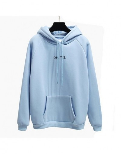 Autumn Winter Fashion Red Pullover Ohyes Print Harajuku Thicken Loose Women Hoodies Sweatshirt Casual Coat Female Drop-shoul...