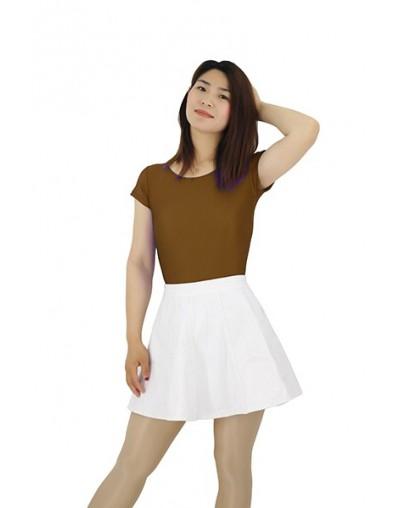 2019 O Neck Bodysuit Women Summer Jumpsuits Short Body Suit Women's Shorts Playsuit Rompers Body for Women - Brown - 4N41240...