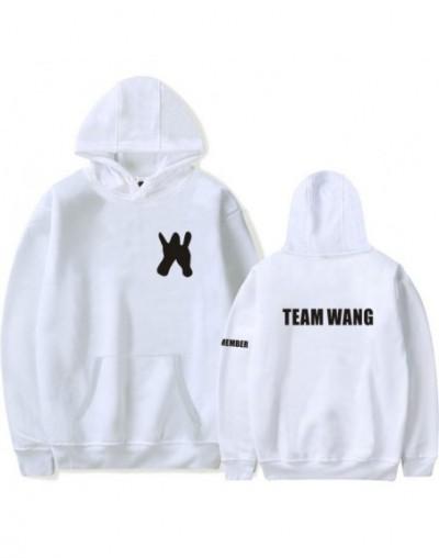 Kpop GOT7 Hoodies Women Men Jackson The Same Team Wang Letter Print Sweatshirt Fans Pullover Tracksuit Moletom Feminino - wh...