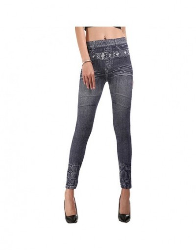 2019 Fashion Jeans Women Pencil Pants High Waist Jeans Sexy Slim Elastic Skinny Pants Trousers Fit Lady Jeans Plus Size - B ...